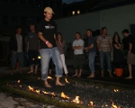 Fire walking