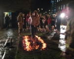 Leeds fire walk